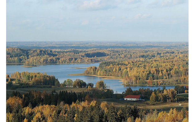 Paysage letton. Photo : Latvian tourism development agency