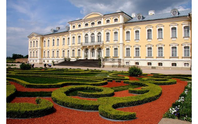 Palais de Rundale. Photo : Latvian tourism development agency