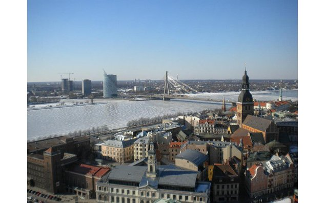 Panorama de Riga. Photo : T. Nonier