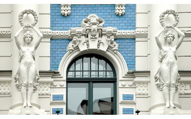Riga. Art nouveau. Photo : L. Balodis
